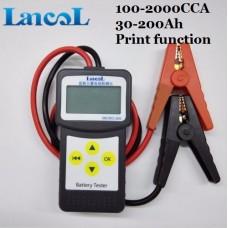 Digitālais akumulatoru testeris 12/24V MICRO200