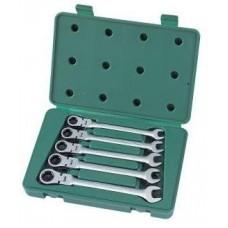 Elastīgo uzgriežņu atslēgu komplekts ar tarkšķi 5pcs. (10-14)