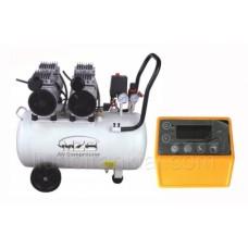 Bezeļļas gaisa kompresors MZB550H50 50l 220L/min 8bar