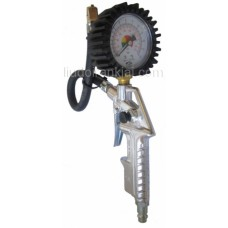 Riepu pumpēšanas pistole ar manometru