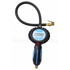 3 in 1 Digitalā riepu pumpēšanas pistole ar gumijas šļūteni CT400D