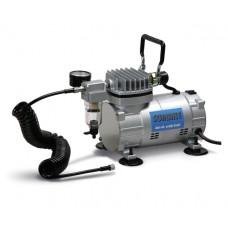 Mini kompresors aerogrāfam ar gaisa vadu, manometru, filtru Sumake MC-1100HFGM