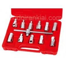 Eļļas noliešanas atslēgu komplekts 12pcs. HSE1156