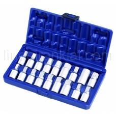 Eļļas noliešanas atslēgu komplekts 18pcs. AT1236A