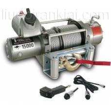 Elektriskā vinča EW1500024R, 24V ar tālvadības pulti